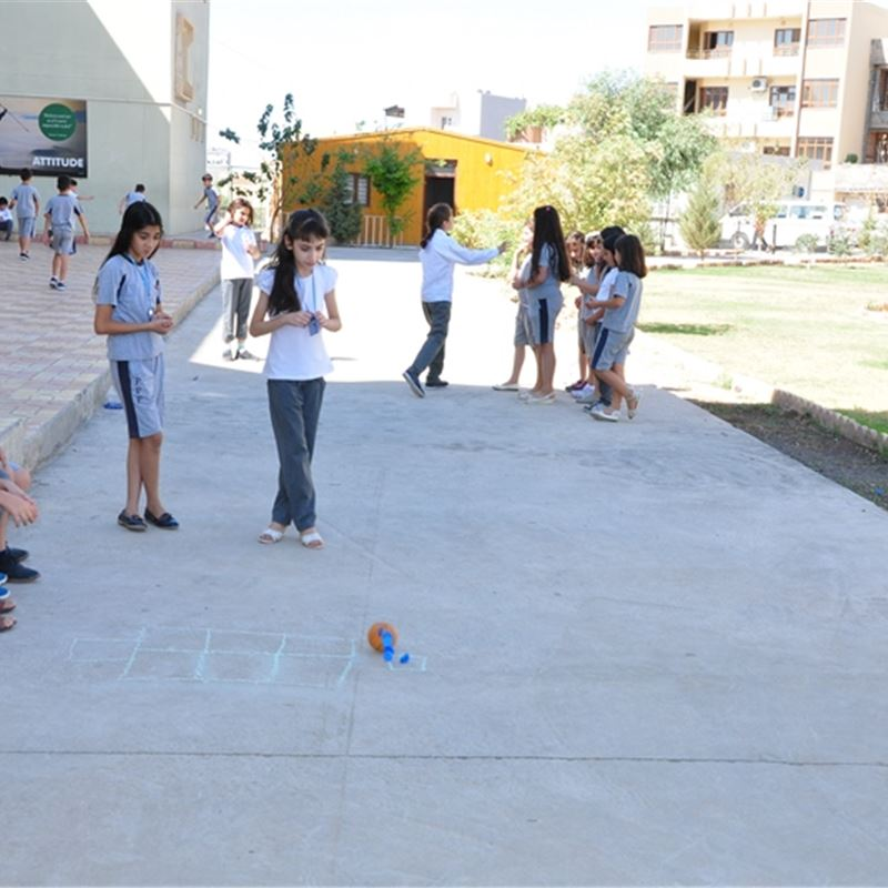 Grade 4 Students at Zakho Enjoy a Day of Games