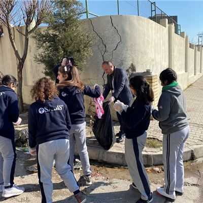 ZAKHO IS GR.5 TO GR.10 STUDENTS CLEANING CAMPAIGN