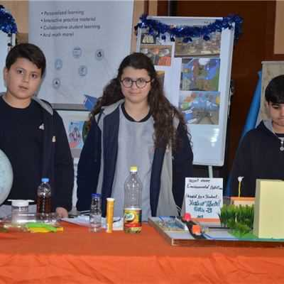 ZAKHO IS GR.4 TO GR.6 STUDENTS PARTICIPATE IN THE SCHOOL SCIENCE FAIR