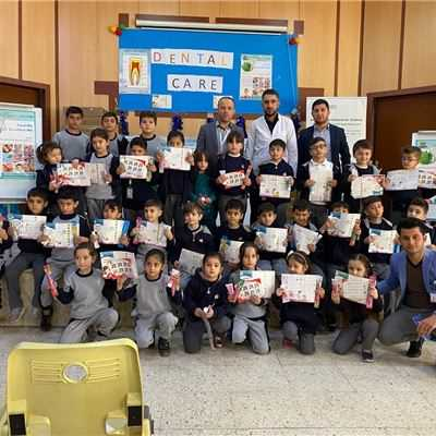 ZAKHO IS GR.1 STUDENTS LEARN ABOUT DENTAL CARE