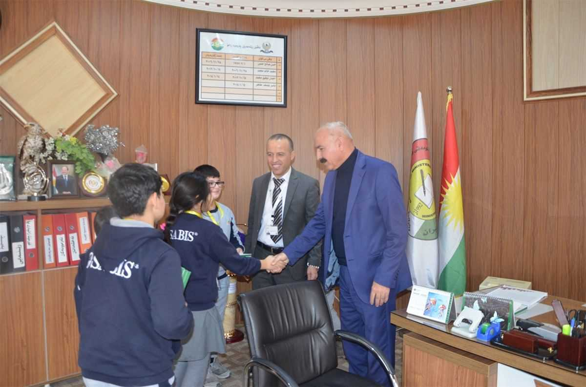 ZAKHO IS AMBASSADOR PREFECTS VISIT THE DIRECTORY OF EDUCATION AND THE LOCAL GOVERNMENT INSTITUTES