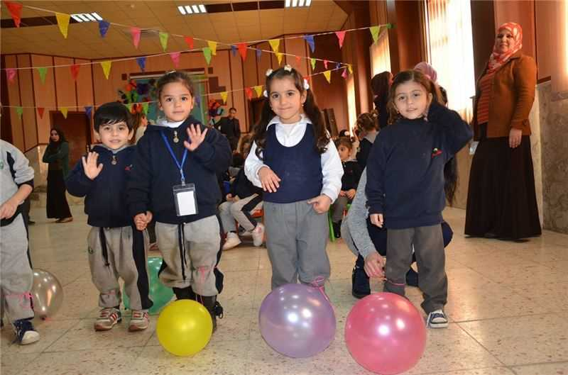 Kindergarten Students Enjoy Winter Break Celebration