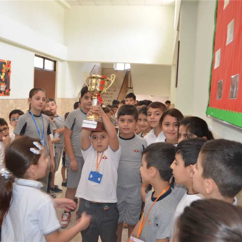 Grades 1 to 6 at Zakho Compete for Cleanest Class Cup