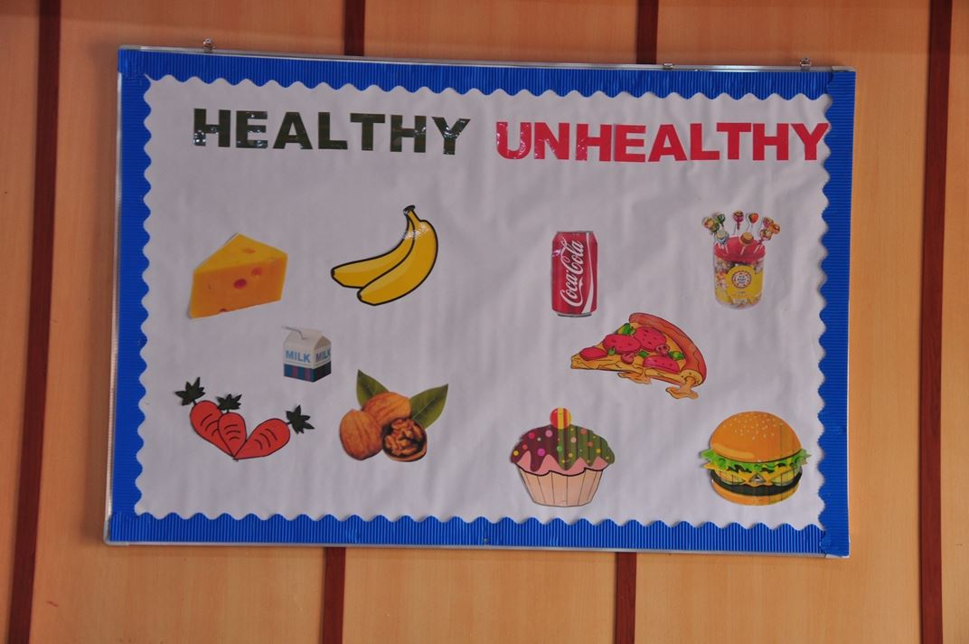 Zakho Students Learn About Healthy Foods