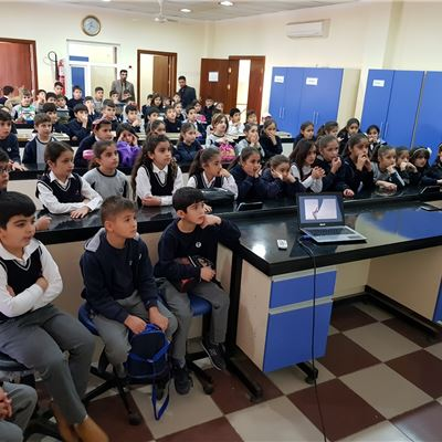 Grade 3 Students at Zakho Learn about Animal Life
