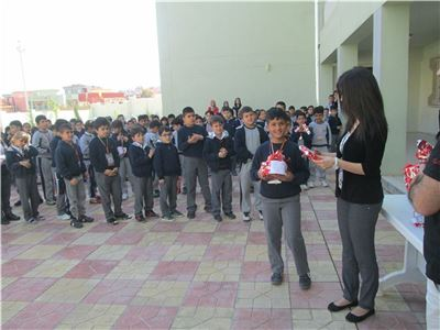 Students Receive Special Awards for Perfect Attendance and Good Behavior
