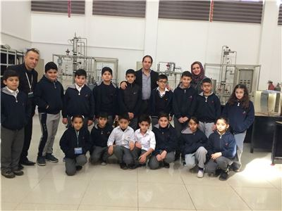 Zakho 4th Graders Tour Technical Institute