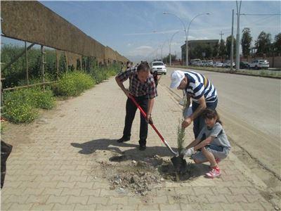 Zakho International School Students Take Part in Environmentally-Friendly Event
