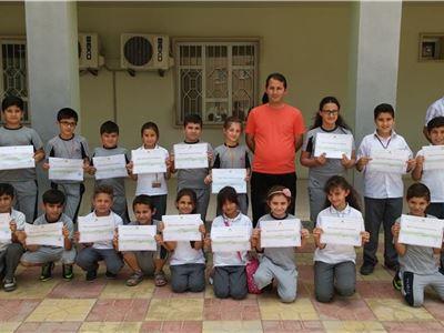 Students from Zakho International School Receive Sports Achievement Certificates