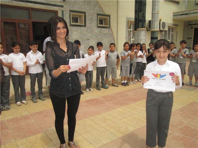 Star of the Week Certificate - Zakho International School