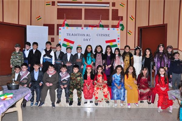 Grade 1 Students and Parents at Zakho Participate at Traditional Cuisine Day