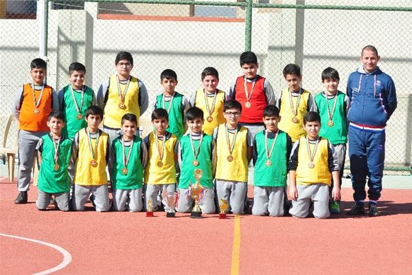 Zakho Hosts Football Competition for Grade 4, 5, and 6