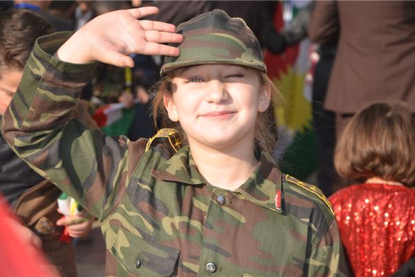 Zakho Students Celebrate Kurdistan Flag Day