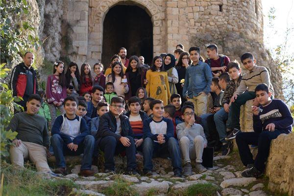 ZAKHO STUDENTS VISIT ANCIENT REMAINS AT AMEDI