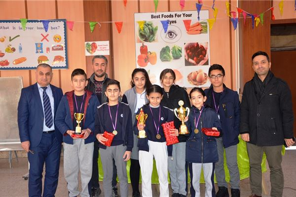 ZAKHO STUDENTS TAKE PART IN SPELLING BEE
