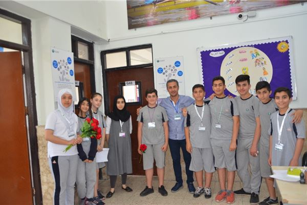 Students at Zakho International School Celebrate Teacher's Appreciation Day