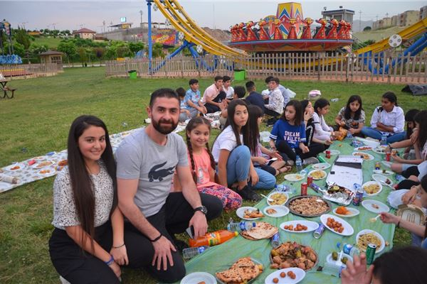 Students at Zakho International School Enjoy an Iftar Dinner