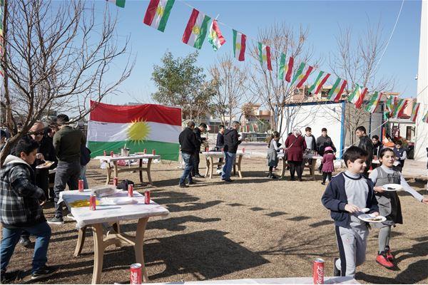 ZAKHO IS GR.4 STUDENTS ENJOY KURDISH FOOD DAY