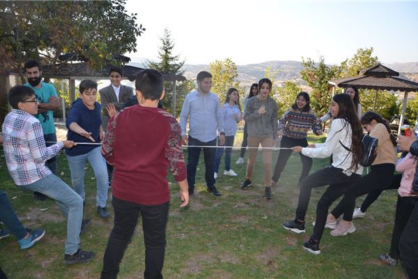 ZAKHO IS GR.7 STUDENTS ENJOY A TRIP TO BABLO IN DUHOK
