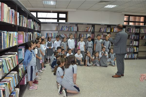 ZAKHO IS GR.2 STUDENTS ENJOY A TRIP TO ZAKHO PUBLIC LIBRARY