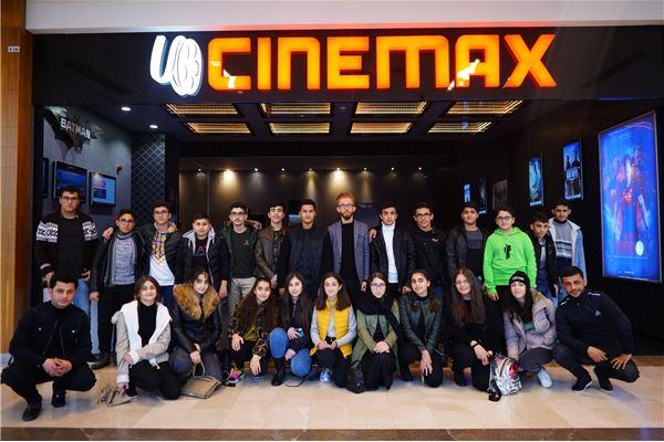 ZAKHO IS GR.8 STUDENTS ENJOY CINEMA TIME