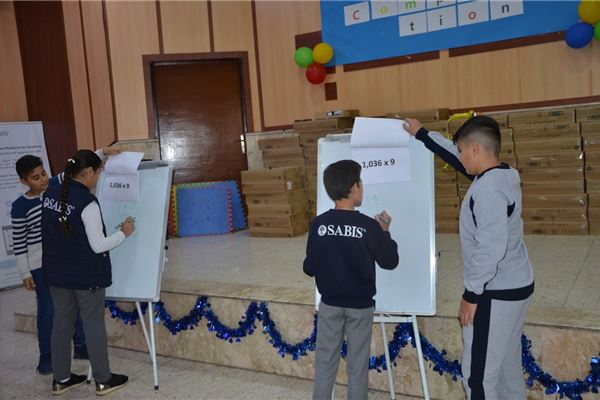 ZAKHO IS GR.5 STUDENTS HAVE A MATH COMPETITION